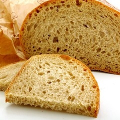 bread and paper packaging