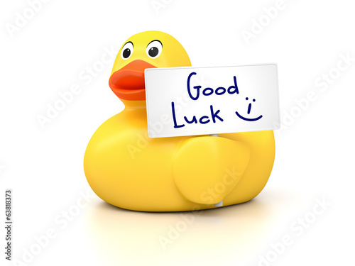 Rubber Ducky Good Luck
