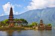Pura Ulun Danu on lake Beratan, Bali, Indonesia - 63818774
