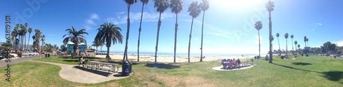 Canvas Grote meren santa barbara beach CA
