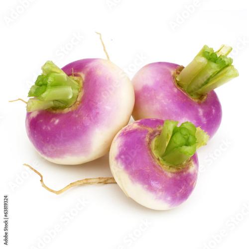 Papiers peints Legume Navets nouveaux - New turnips
