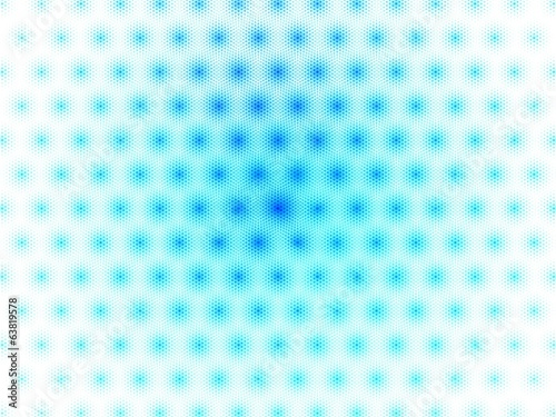 Abstract blue bubble dot swirl design background