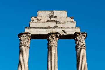 Temple of Castor and Pollux in Rome