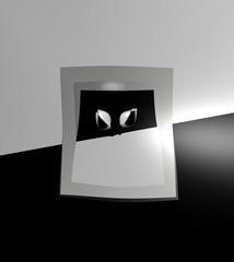 quadro in bianco e nero