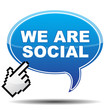 WE ARE SOCIAL ICON