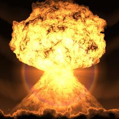 atombombenexplosion nuclear explosion