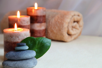 Wellness: massage stones