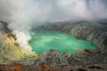 Kahaw Ijen overlook