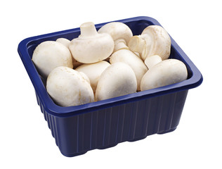 Champignons in a packing