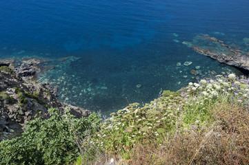 pantelleria sea landscape, sicily, italy, europe