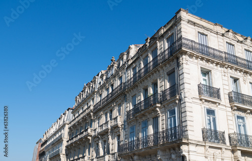 canvas print picture Façade