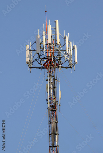 Mobile phone tower in Thailand