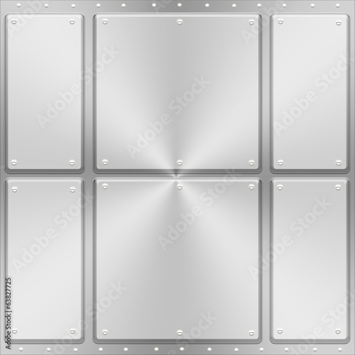 Metal  Panel Background A