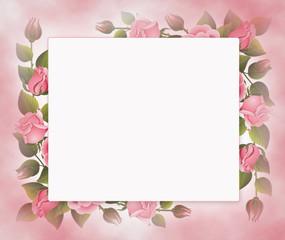 Стилизованный фон с цветами