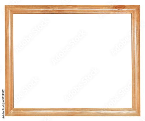 simple wood picture frame