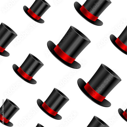 Cylinder hat background