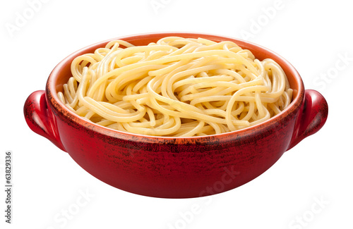 Spaghetti Bowl isolated