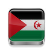 Metal  icon of Sahrawi Arab Democratic Republic