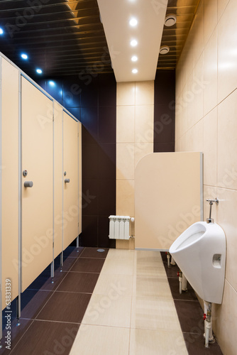 canvas print picture Modern restroom interior