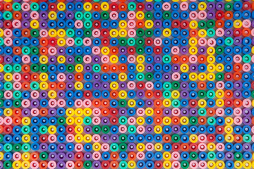 Coloured bead background