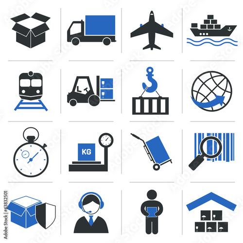 Logistic Service Icons