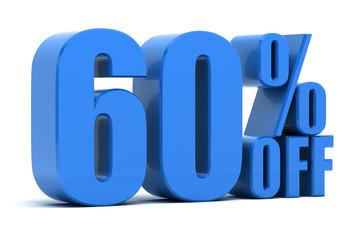 60 percent off