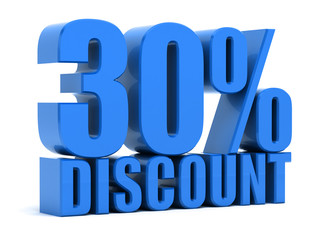 Discount 30 percentage