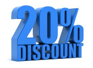 Discount 20 percentage