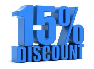 Discount 15 percentage
