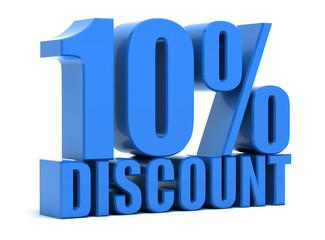 Discount 10 percentage