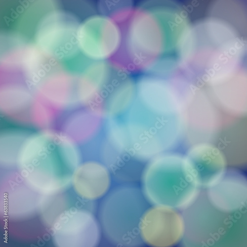 Vector abstract background with bokeh light effects