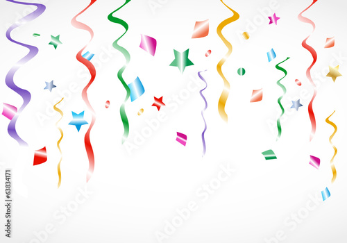 Party Confetti Background