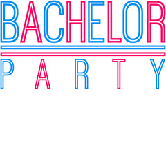 Cool Bachelor Party Design
