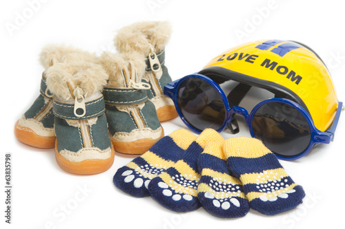 Pet clothing and accessory ,Pet shoes, socks  and  helmet