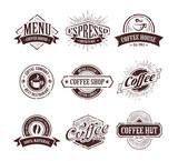 Retro Coffee Stamps