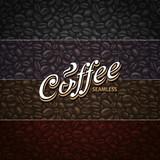 Fototapety Coffee Seamless Patterns