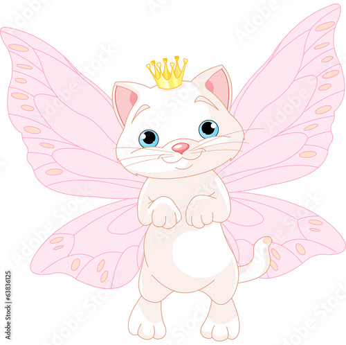 Cute Fairy Cat