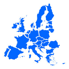mape of european union crisis