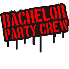 Bachelor Party Crew Stempel