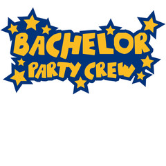 Bachelor Party Crew Stars Logo