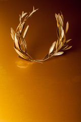 Golden Olive Wreath