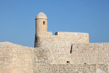 Fort of Bahrain in Manama, Kingdom of Bahrain, Middle East