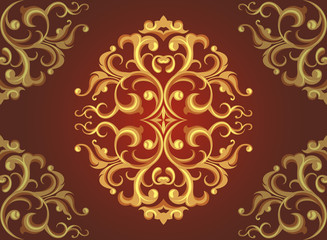 The art pattern wallpaper vector background
