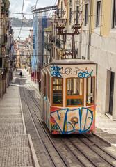 Lisbon's Gloria funicular
