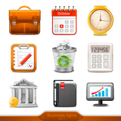 Businesss icons set 1