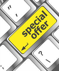 special offer button on computer keyboard