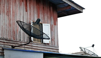 Network communication technology satellite dish