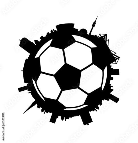 Skyline Dortmund Fussball