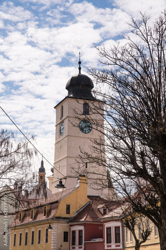 Council Tower in Sibiu