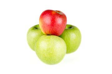 Red and Green Apples - 08